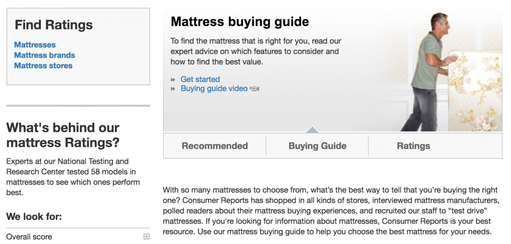 best mattress reviews u2013 consumer reports - Mattress Buying Guide